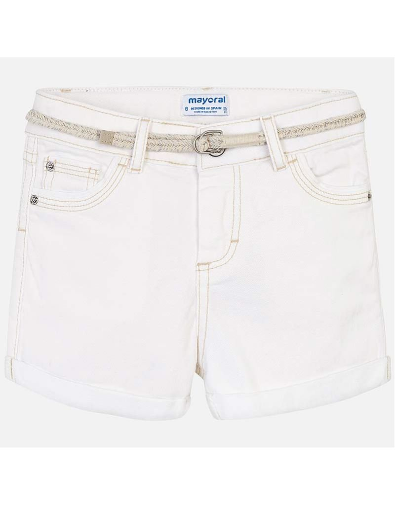 Melodee Twill Shorts with Belt