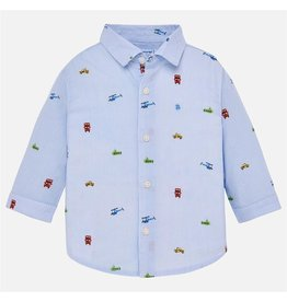Mickie Long Sleeve Button-up