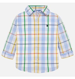 Marty Long Sleeve Checkered Button-up