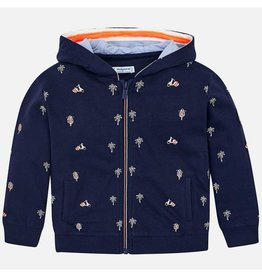 Malachy Embroidered Fleece Pullover