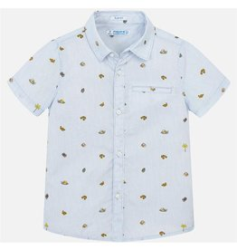 Milan Short Sleeve Button-up