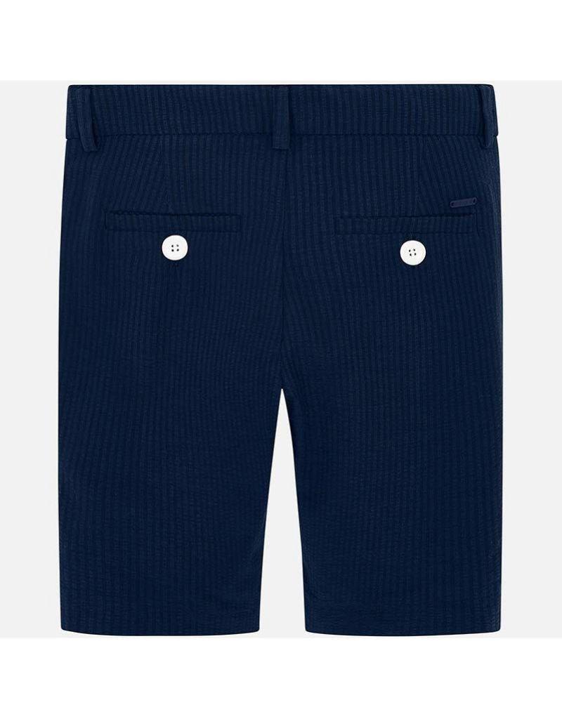 Milton Tailored Seersucker Shorts