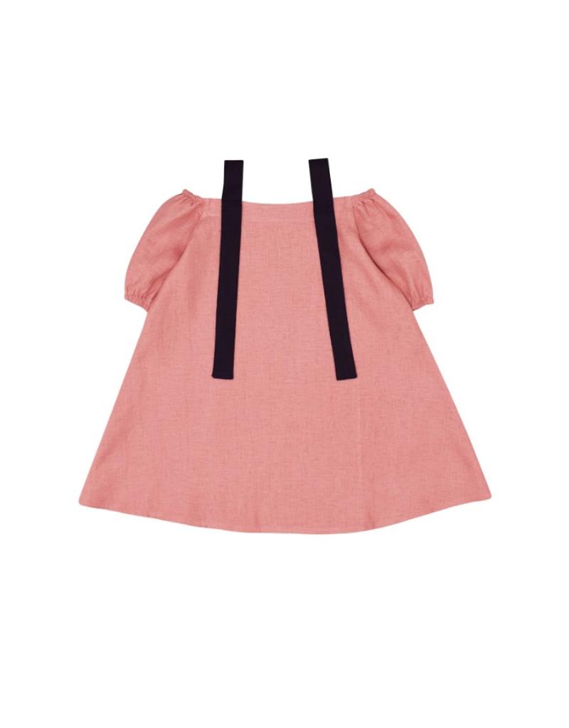 Hollie Linen A-Line Dress