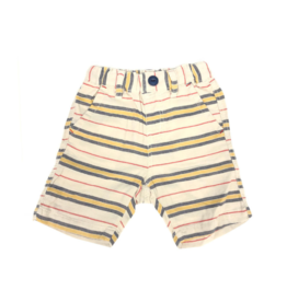 Gauze Striped Shorts