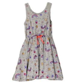 Rainbow Printed Dress