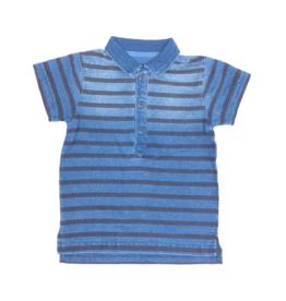 Indigo Polo T-Shirt