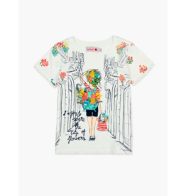Bessie Knit Graphic T-Shirt