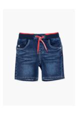 Bronwyn Knit Denim Bermuda Shorts