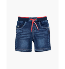 Bronwyn Knit Denim Bermuda Shorts