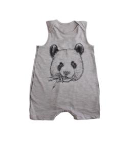 Sleeveless Panda Romper