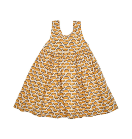 River Pattern Dress