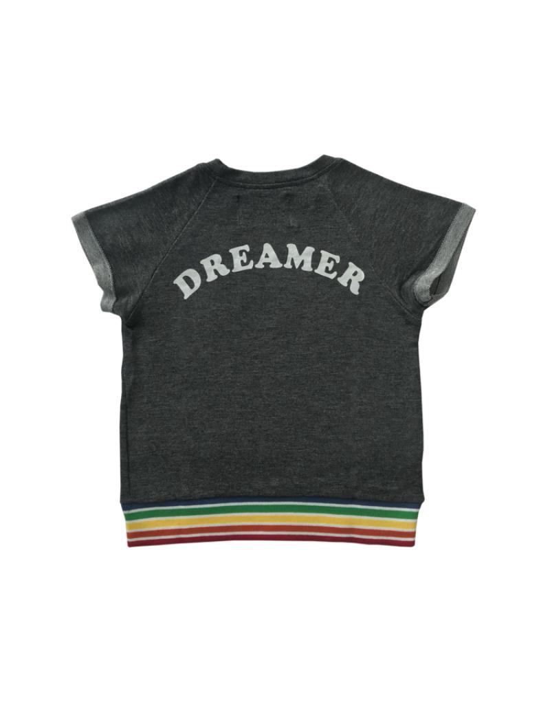 Tigerlilly Dreamer Short-Sleeve Sweatshirt