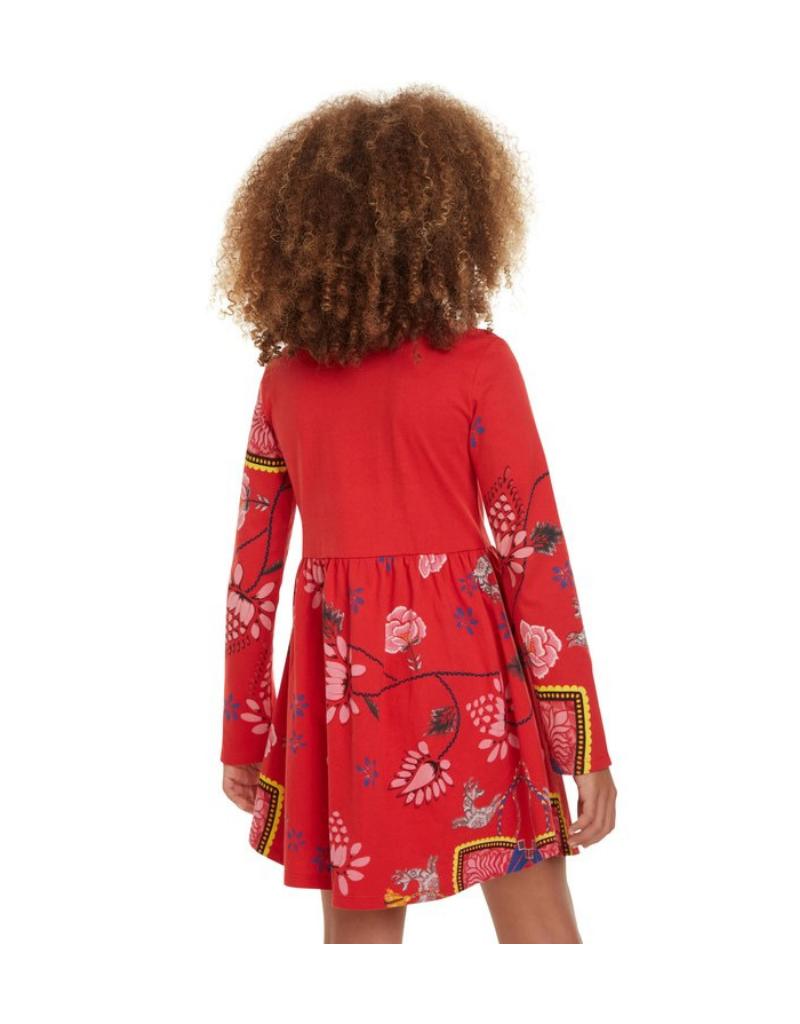 Ixtapuluca Long-Sleeve Dress