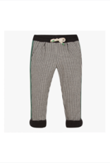 Capri Houndstooth Fashion Joggers