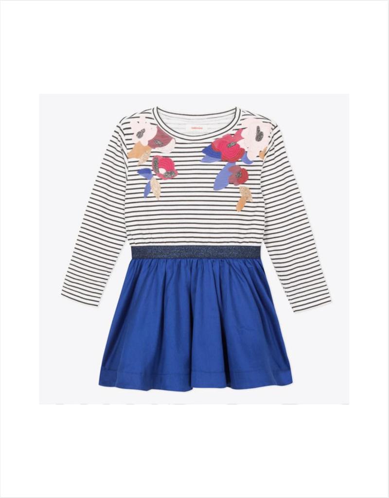 Cecily 2 in 1 Striped Dress