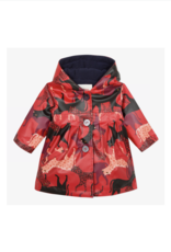 Cecilia Panther Printed Rubber Jacket
