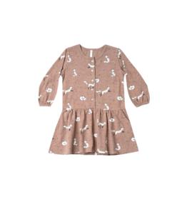 Winter Fox Button Up Dress