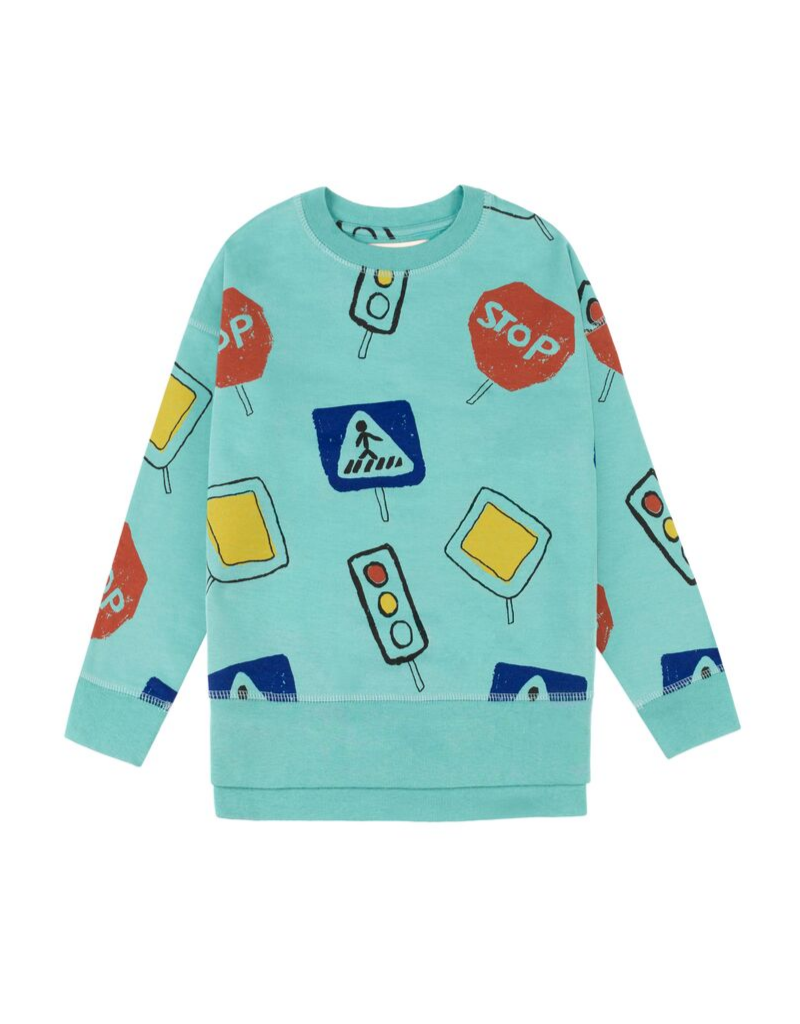 Traffic Signs Sweatshirt