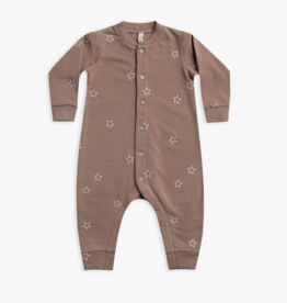 Star Embroidery Clay Jumpsuit