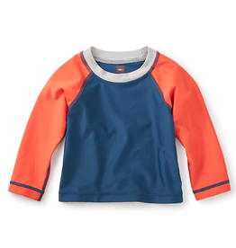 VAULT CLOTHES-Boy Tea Collection Ripper Baby Rash Guard 7S42601 POSEIDON