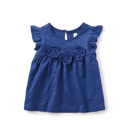 VAULT CLOTHES-Girl Tea Collection Hovea Applique Baby Tunic 7S32117 GRAPE