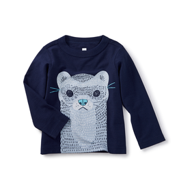 VAULT CLOTHES-Baby Boy River Otter Graphic Tee