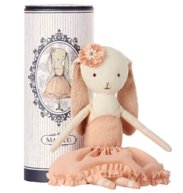 Plush Ballerina Bunny in Tube