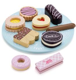 Le Toy Van Honeybake Biscuit & Plate Set