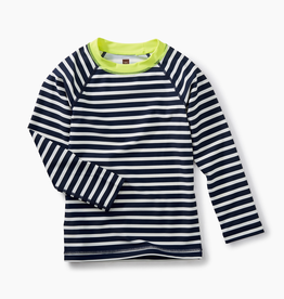 VAULT CLOTHES-Boy Long Sleeve Striped Rashguard Swimwear