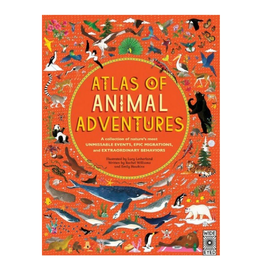 Atlas of Animal Adventures by Rachel Williams and Emily Hawkins