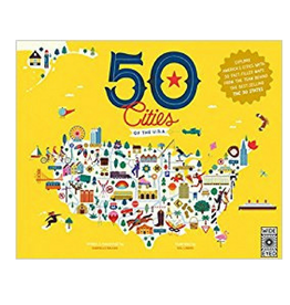 50 Cities of the U.S.A by Gabrielle Balkan