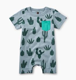 VAULT CLOTHES-Baby Boy Print Pocket Romper
