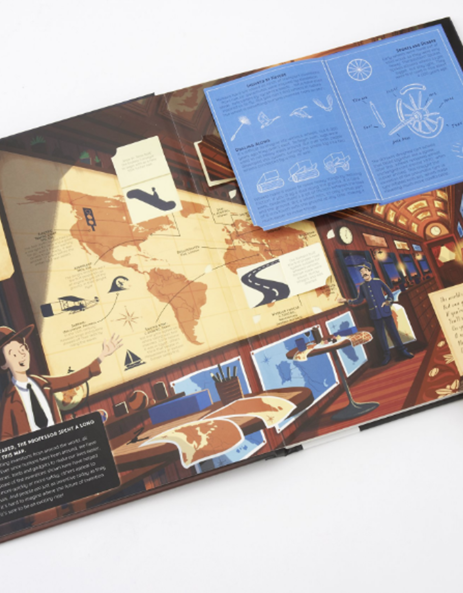 All Aboard the Discovery Express by Emily Hawkins and Tom Adams