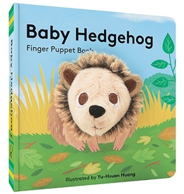 Baby Hedgehog: Finger Puppet Book by Yu-Hsuan Huang