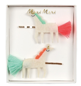 Unicorn Hair Slides