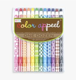 Color A-Peel Crayon Set