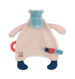 Hippo Pacifier Comforter