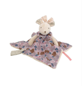 Pink Flowers Mouse Lovey