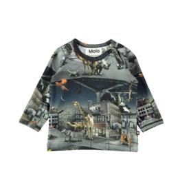VAULT CLOTHES-Baby Boy Ewald Zoo Top