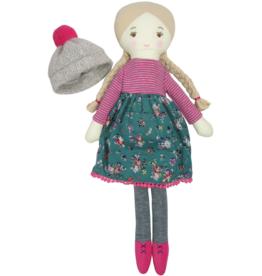 Blue Anna Doll