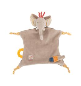 Elephant Pacifier Comforter