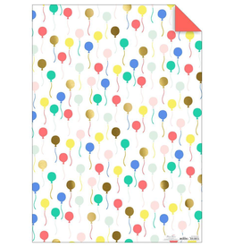 Balloon Gift Wrap Sheets