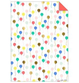 Balloon Gift Wrap Sheets