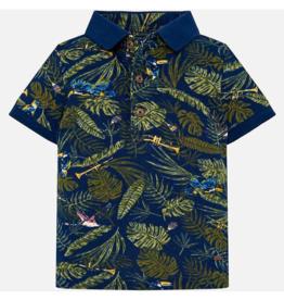 VAULT CLOTHES-Baby Boy Michal Short Sleeve Polo