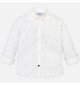 VAULT CLOTHES-Boy Michel Long Sleeve Button-up