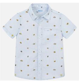 VAULT CLOTHES-Boy Milan Short Sleeve Button-up