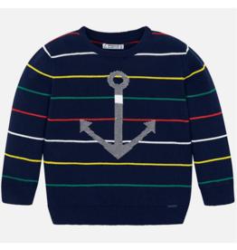 VAULT CLOTHES-Boy Milo Stripes Sweater