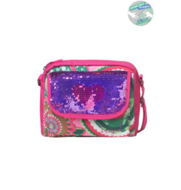 Quenepa Reversible Sequins Bag
