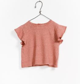 VAULT CLOTHES-Baby Girl Paris Striped T-Shirt