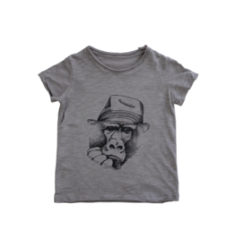 VAULT CLOTHES-Boy Short-Sleeve Gorilla T-Shirt